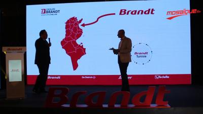 Lancement de Brandt en Tunisie