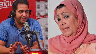 """Amine Gara à Aziza Boulabiar : """"""""On ne dévoile pas les secrets  des foyers """""""