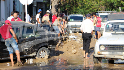 Les dégâts matériels enregistrés à Nabeul après les inondations