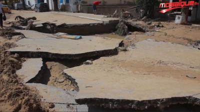 بعد الفيضانات، منطقة سيدي عمر بنابل في صور