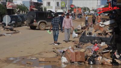 L'intervention de la municipalité de Nabeul à Sidi Amor