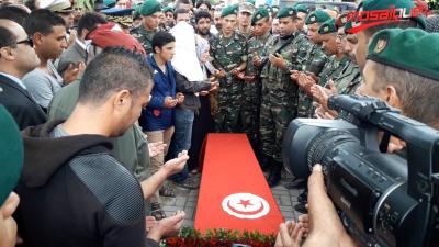 Teboulba : le martyr, Idriss Zouaghi, enterré