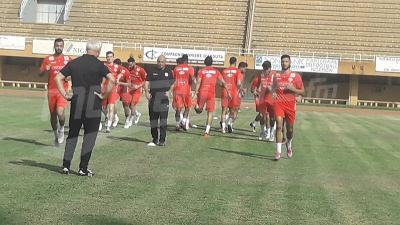 الحصة التدريبية للمنتخب الأولى والوحيدة في النيجر