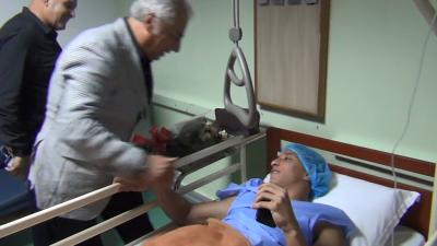 Ahmed Khalil, opéré d'une appendicite