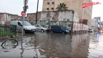 Les rues de la Capitale inondées par les pluies