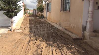 Manouba : Les inondations sont passées par ici