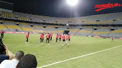 Dernière séance d'entrainement d'Al Ahly