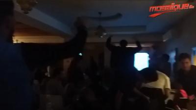 Le public de l'EST fête le second but face à Al Ahly