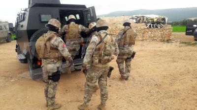 Mont Semmama: des unités de la garde nationale effectuent des opérations de ratissages et des descentes dans des maisons suspectes
