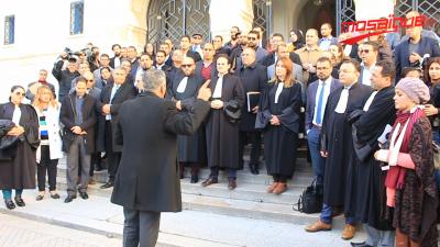 Les avocats en grève, le bâtonnier est absent
