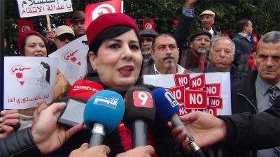 Abir Moussi : nous refusons le rapport de l'IVD et ses travaux