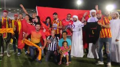 L'ambiance d'avant-match Al Aïn - Espérance S.Tunis