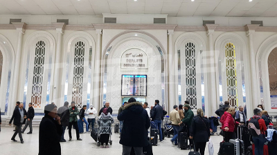 Le trafic aérien suspendu à l'aéroport de Tunis-Carthage