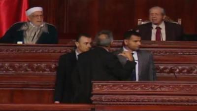 الهمامي : الناصر يتحمّل مسؤولية الفوضى في المجلس وعليه الإعتذار