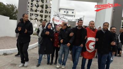 صفاقس: الأساتذة النواب يتّجهون إلى العاصمة سيرا على الأقدام
