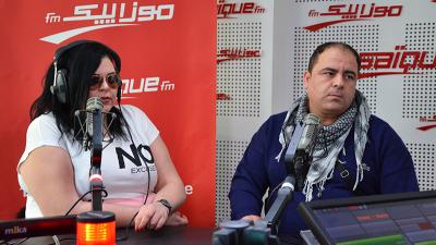 أميرة بلحاج و محمد بوستة في نجوم