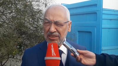 الغنوشي: ''مبروك عليهم بن علي''