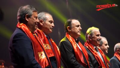 Centenaire de L'EST : Des politiciens, des sportifs et des artistes tunisiens et étrangers, présents