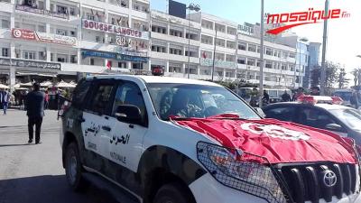 Sousse: des agents de sécurité manifestent