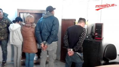 بينهم فتاتين: الإطاحة بشبكة مختصة في سرقة السيارات بسوسة