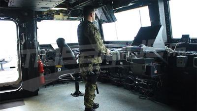 سفينة عسكرية من الأسطول السادس الأمريكي في تونس