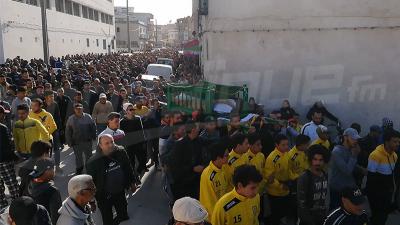 Bizerte : Les funérailles de Bahija, la doyenne des supporters.