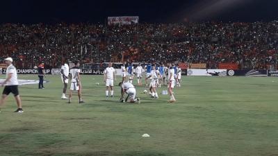 ESS- Al Merrikh : L'ambiance d'avant-match au stade Om Dormane