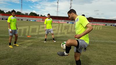 Dernière séance d'entrainement du Club S.Sfaxien à  Kitwe