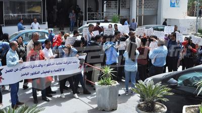 دكاترة يحتجون:نعاني التهميش و5 آلاف عاطل عن العمل