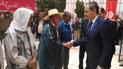 وزير الداخلية يشرف على إحياء الذكرى 61 لمعركة رمادة