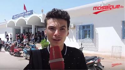 Djerba: l'ambiance du dernier jour des épreuves du BAC