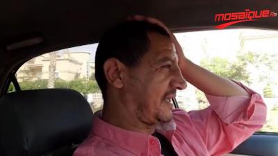 Un propriétaire de taxi égyptien est fan de joueurs tunisiens