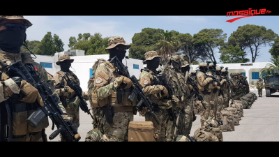 Une journée avec les forces spéciales de l'armée tunisienne