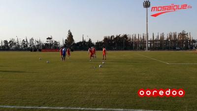 CAN2019 : Deuxième séance d'entraînement pour l'équipe nationale