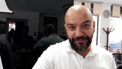 Mosaïque fm chez le coiffeur de Mahamed Salah