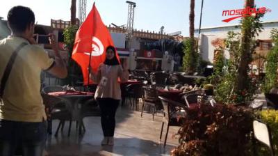 أجواء ما قبل مباراة تونس وأنغولا