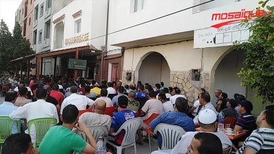 كيف عاش التونسيون أول مباراة للمنتخب في الكان؟