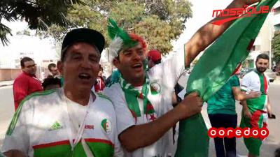 كان 2019: جمهور الجزائر يشجّع المنتخب الوطني
