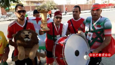 كان 2019: الأجواء من ملعب السلام قبل مباراة المغرب والبنين