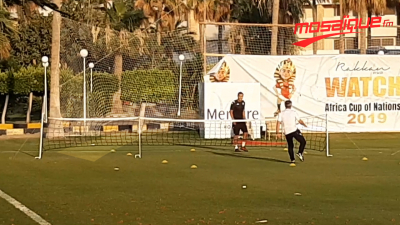 كان 2019: جيراس والبوسعايدي يلعبان تنس-كرة القدم