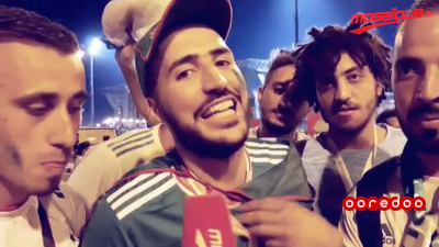 بعد تأهل الخُضر: الجزائريون يساندون المنتخب التونسي
