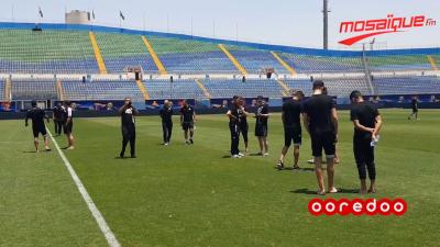 CAN 2019 : L'équipe nationale visite le stade 30 juin au Caire