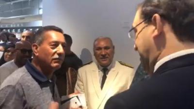 Youssef Chahed rejoint les supporters algériens à Meloula