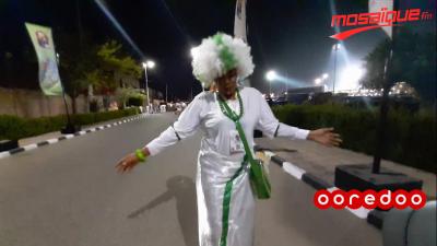 Réaction du public après la défaite de la Tunisie