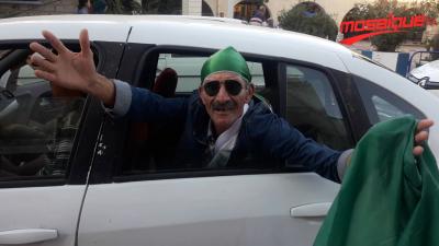 مشجعو الخضر في طبرقة: الكأس الإفريقية جزائرية