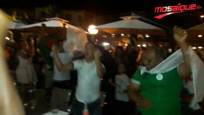 L'ambiance de la finale de la CAN à Beja
