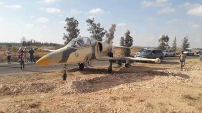 طائرة حربية ليبية في مدنين!