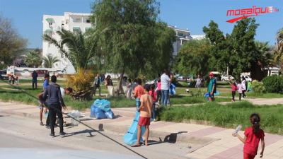 مشاركة واسعة في حملة النظافة بتونس الكبرى