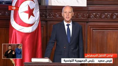 رئيس الجمهورية يؤدي اليمين الدستورية