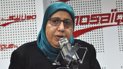 يمينة الزغلامي : قلب تونس صوّت للغنوشي دون شروط